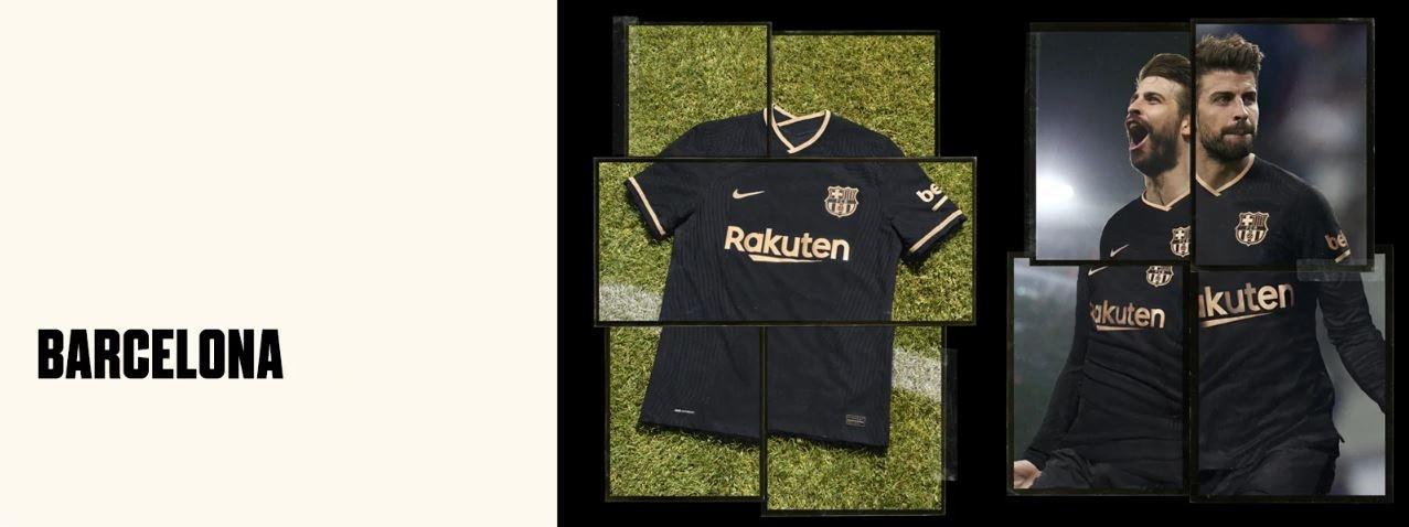 FC Barcelona vonkajší dres 2020/21